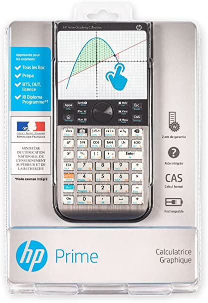 Hp Prime Calculatrice Graphique Tactile Mode Examen Amazon Fr Fournitures De Bureau