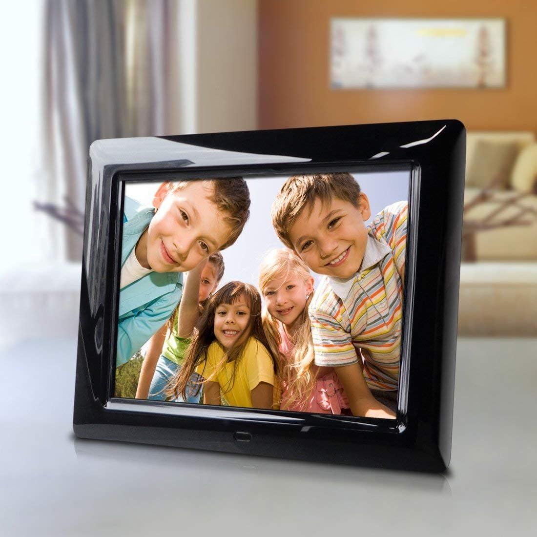 Interval time Adjust Hi-Resolution slideshow Transitional Effects 8 Inch Digital Photo Frame Great Gift