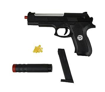Pistola 285589 Gun Mm 6 Juguete Sport Silenciador 730a De Hy Con NZn0PXk8wO