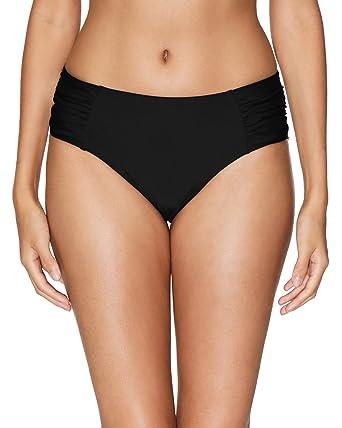 3d88f8f4ec7e1 vivicoco Womens Bikini Bottoms Black Swimsuit Bottoms Retro Swim Briefs S