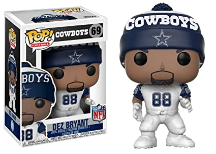 Amazon.com: Funko Pop NFL: Ezekiel Elliott (Cowboys Home ...