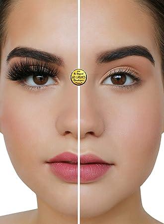 22fb50d0781 Luxurious 6D Volume False Mink Lashes | Eyelash Extension Effect 100%  Handmade Fake Eyelashes 30