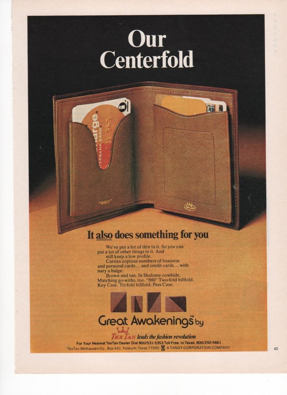Amazon com : Tex Tan Two-Fold Billfold Key Case Fashion 1973
