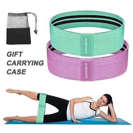 GUSODOR Bandas de Ejercicios Bandas Elasticas Fitness Resistencia Bandas para Yoga, Pilates, Crossfit, Estiramientos, Fisioterapia, Entrenamiento de ...