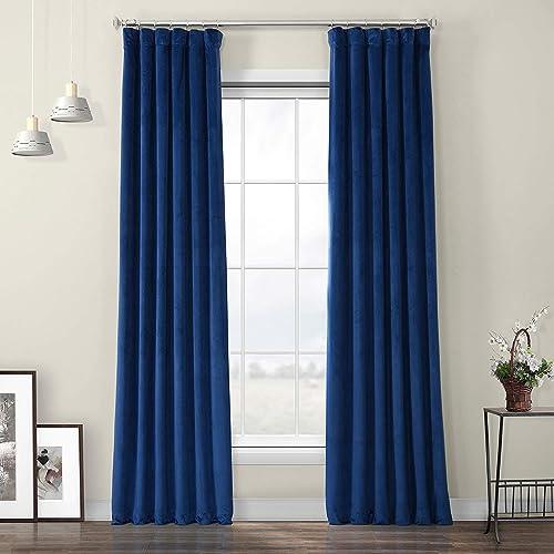 Best window curtain panel: HPD Half Price Drapes VPYC-198604-108 Heritage Plush Velvet Curtain 1 Panel