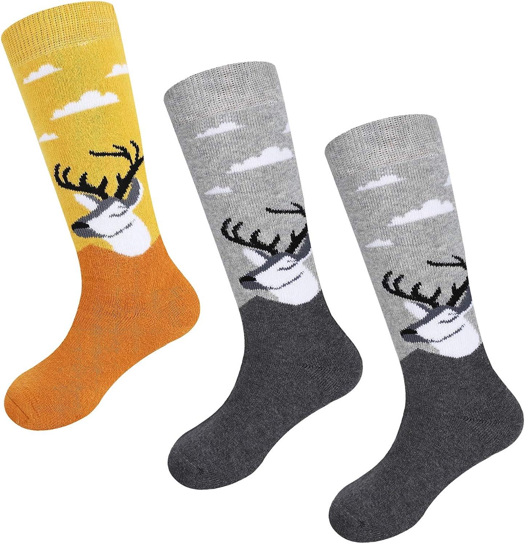 Ski Socks Kids Winter Warm Thermal Snow For Boys Girls 2pack //3pack