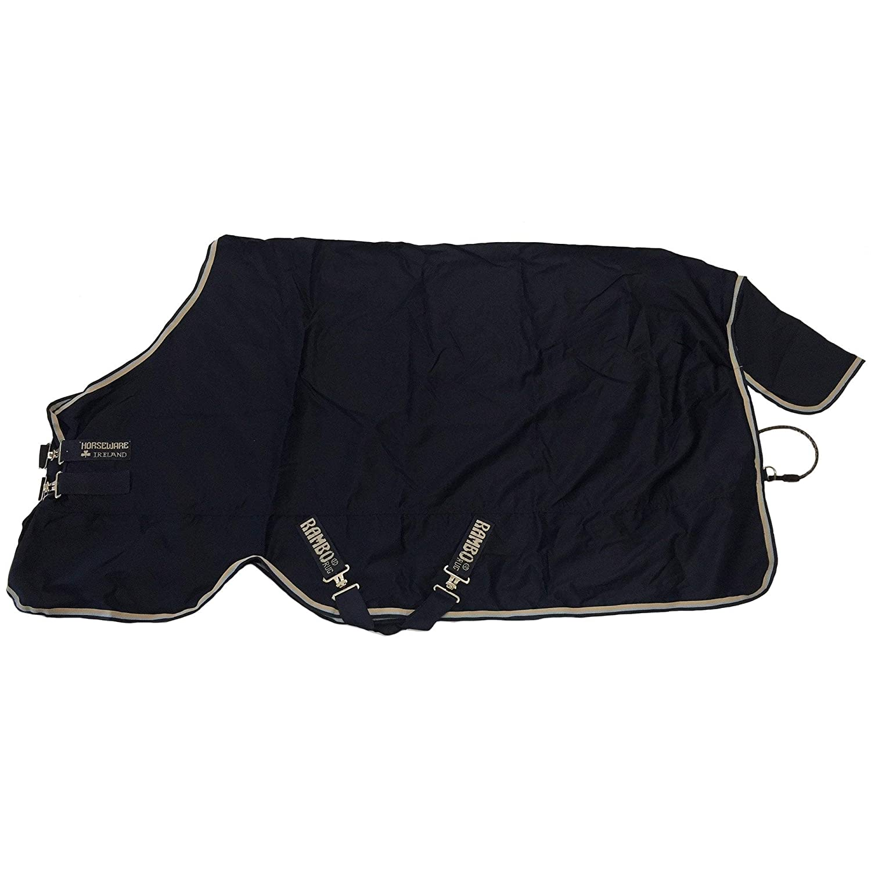 Horseware Rambo Cotton Sheet 5ft9 Navy Tan Baby bluee Navy
