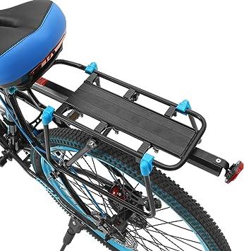 Outerdo Aluminio Portabicicletas Portabicicletas Soporte de Asientos Para Bicicleta Bicicleta de Montana (Se Adapta a: Diametro de la Silla de Montar <33MM): Amazon.es: Deportes y aire libre