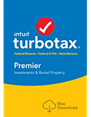 TurboTax Premier + State 2018 Tax Software [MAC Download] [Amazon Exclusive]