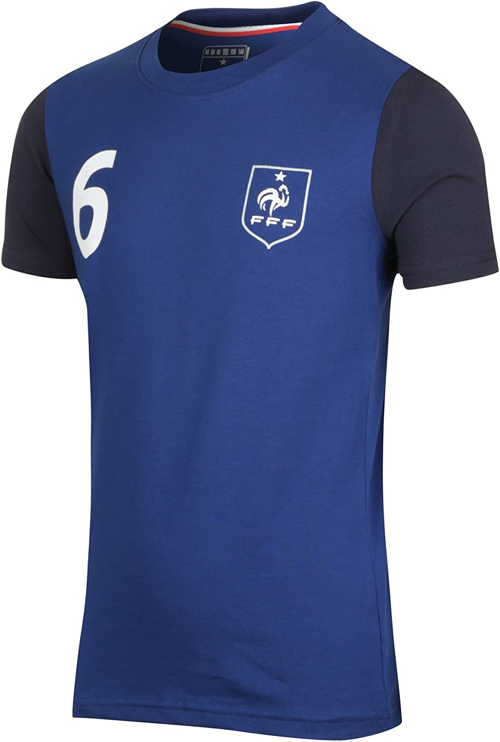 Collection Officielle Taille Enfant gar/çon Paul Pogba Equipe de FRANCE de football T-Shirt FFF
