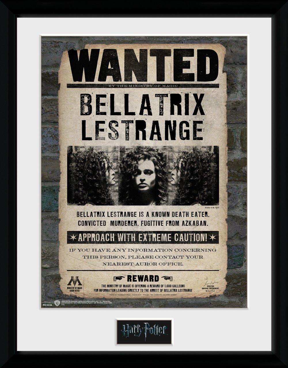 HARRY POTTER GB Eye Ltd Bellatrix Foto incorniciata 30 x 40 cm