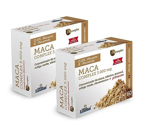 Maca (Complex) 3.000 mg – Con maca, guaraná, tribulus, ortiga verde