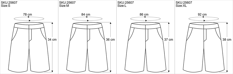 Leggings Shorts Boho-chic Pantaloncini e Pantaloni 3//4 Dicotone Guru-Shop