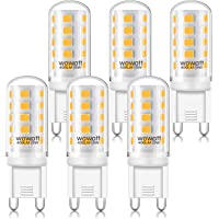 Wowatt G9 5W LED Vervangt 40W halogeenlamp Geen flikkering Met IC-controller 230V 2800K lamp Lichtgevende pinbasis Hoge…