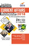 Current Affairs Roundup 2018 with 24+ Online Tests & 2 eBooks
