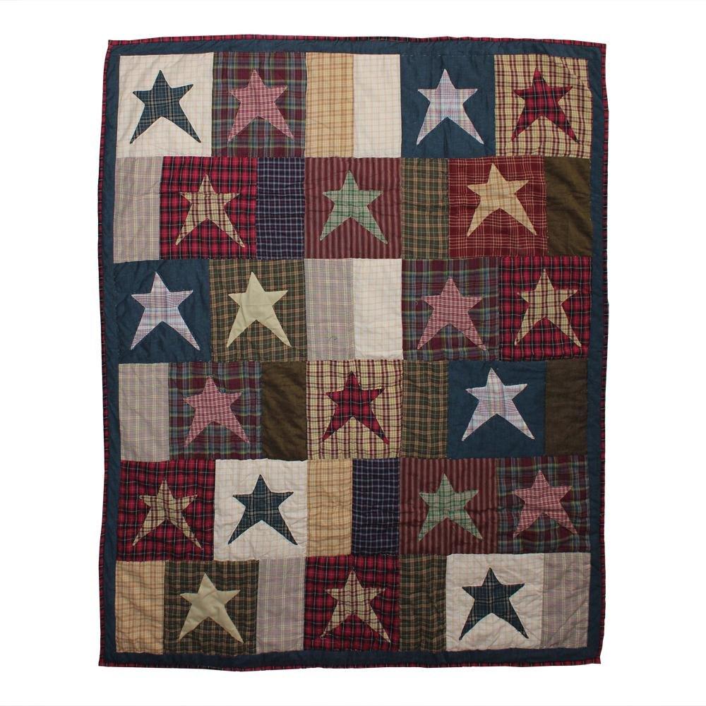 Patch Magic Homespun Stars Throw 50 x 60