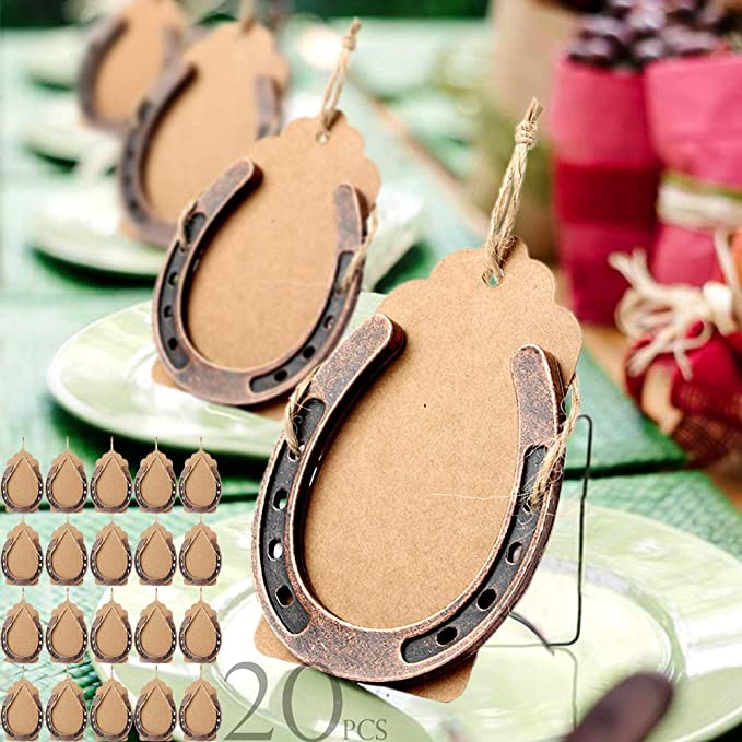 """New Real Horseshoes Horse shoe Wedding good luck Craft Sculptor 6.1//2/"""" w Game"""