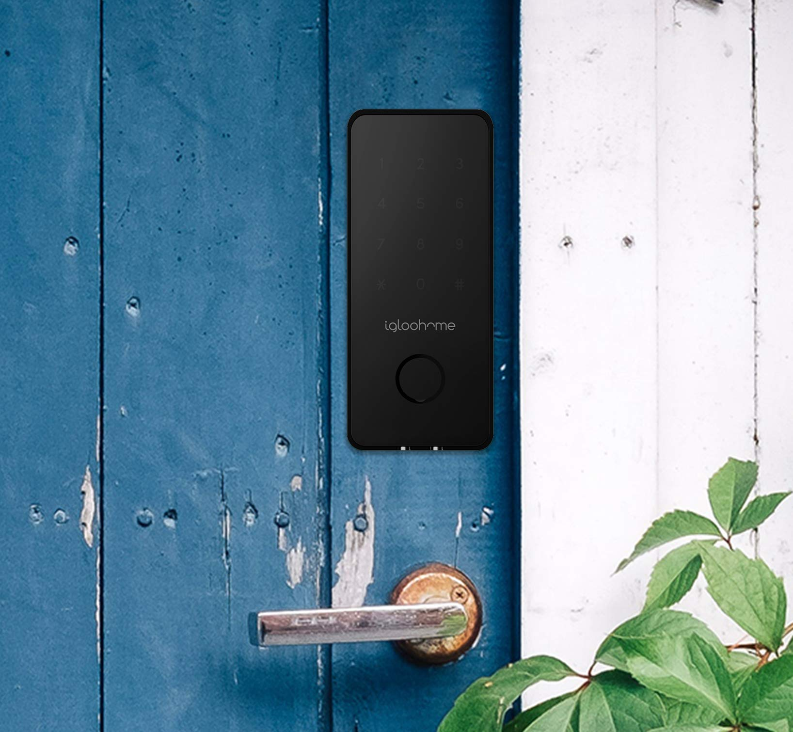 Igloohome Smart Electronic Deadbolt 2S, Grant & Control Remote Access with Pin Code - Touch Screen Keypad with Built-in Alarm - Bluetooth Enabled Works Offline - Works with Your Smartphone by igloohome (Image #9)