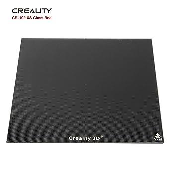 Sovol Creality CR-10/10S Cama de Vidrio Templado Cristal Placa Plataformas de impresora 3D 310x310x4mm