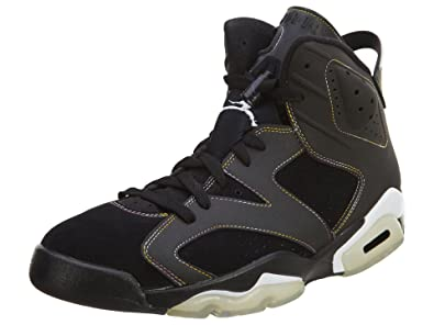 los angeles 1cbd9 ce73c Amazon.com | Jordan Nike Air 6 Retro Lakers VI Mens ...