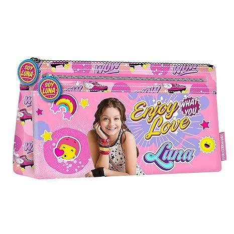 Karactermania Soy Luna Roller Zone Estuches, 22 cm, Rosa ...
