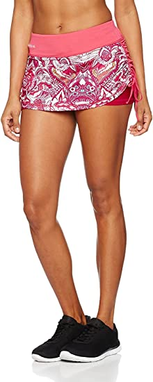 Desigual Womens Sport Skirt with Compression Short Wild