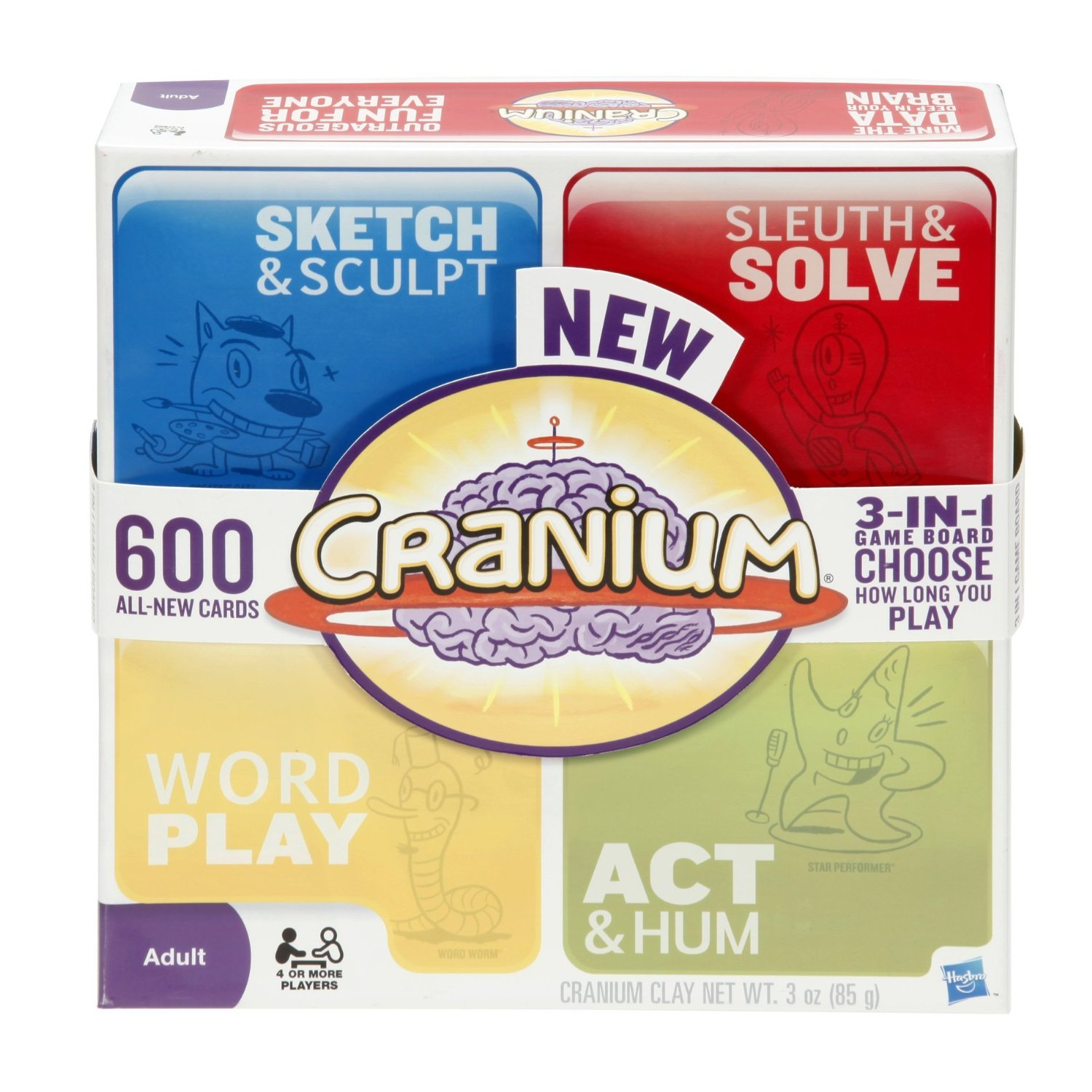Cranium Board Game Cards