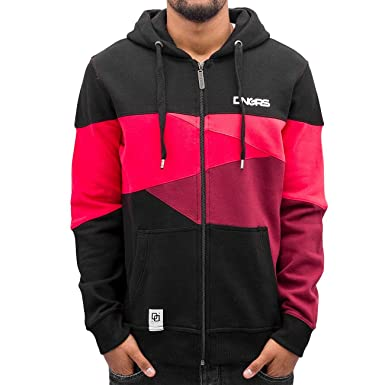 Dangerous DNGRS Männer Sport-Zip Hoodie Limited Edition II Race City in  schwarz  Amazon.de  Bekleidung e21de29a9b