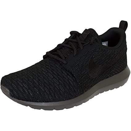 quality design 72a12 10e45 Nike Flyknit Rosherun Mens Running Trainers 677243 Sneakers Shoes (US 6, Black  Midnight Fog