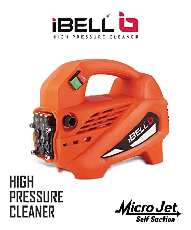 iBELL 1700-Watt Induction Motor Home and Car Pressure Washer (Black & Orange) …