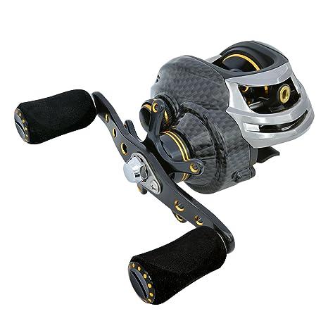 amazon com fishdrops baitcasting reels double brake systems