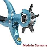 S&R Pince perforatrice rotative M225 / FABRICATION ALLEMANDE / Poinçon de précision, 6 têtes : 2 – 2,5 – 3 – 3,5 – 4 – 4,5 mm.