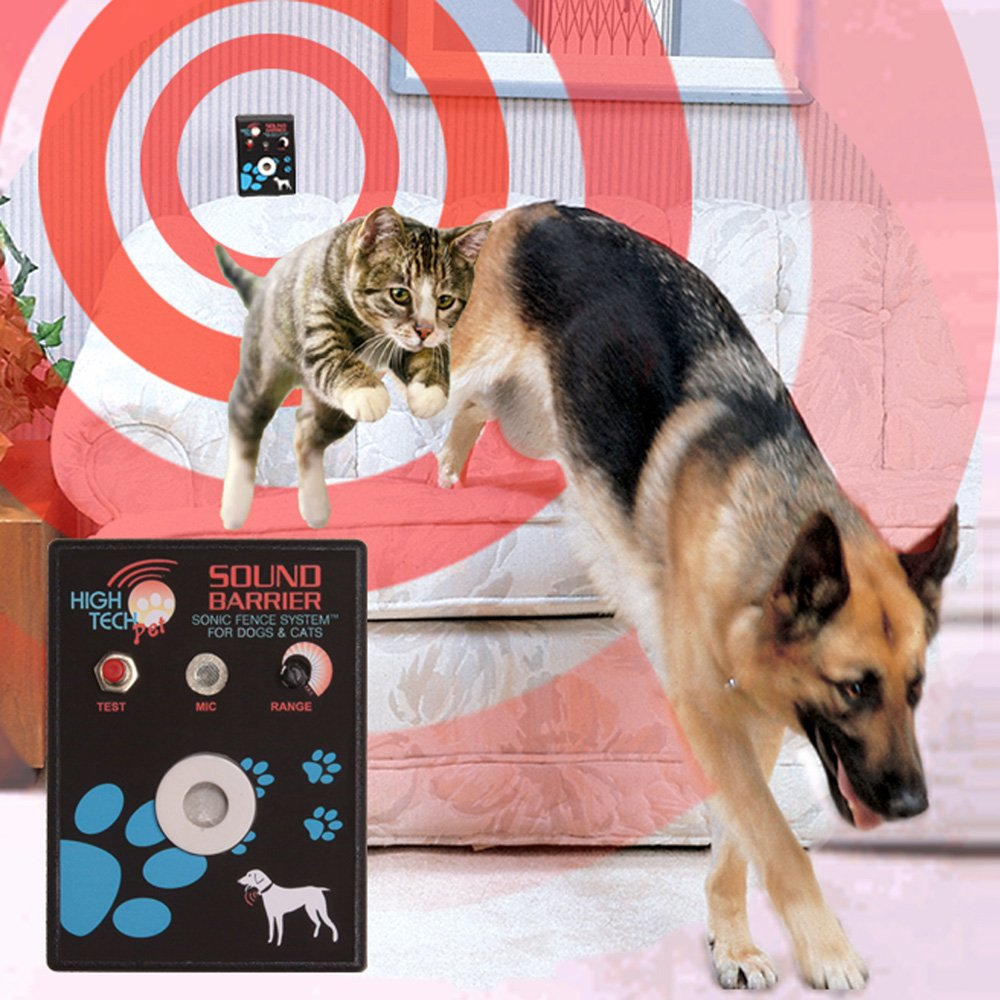 Sound Barrier 3-Station Indoor Sonic Dog & Cat Fence SB-3 by High Tech Pet