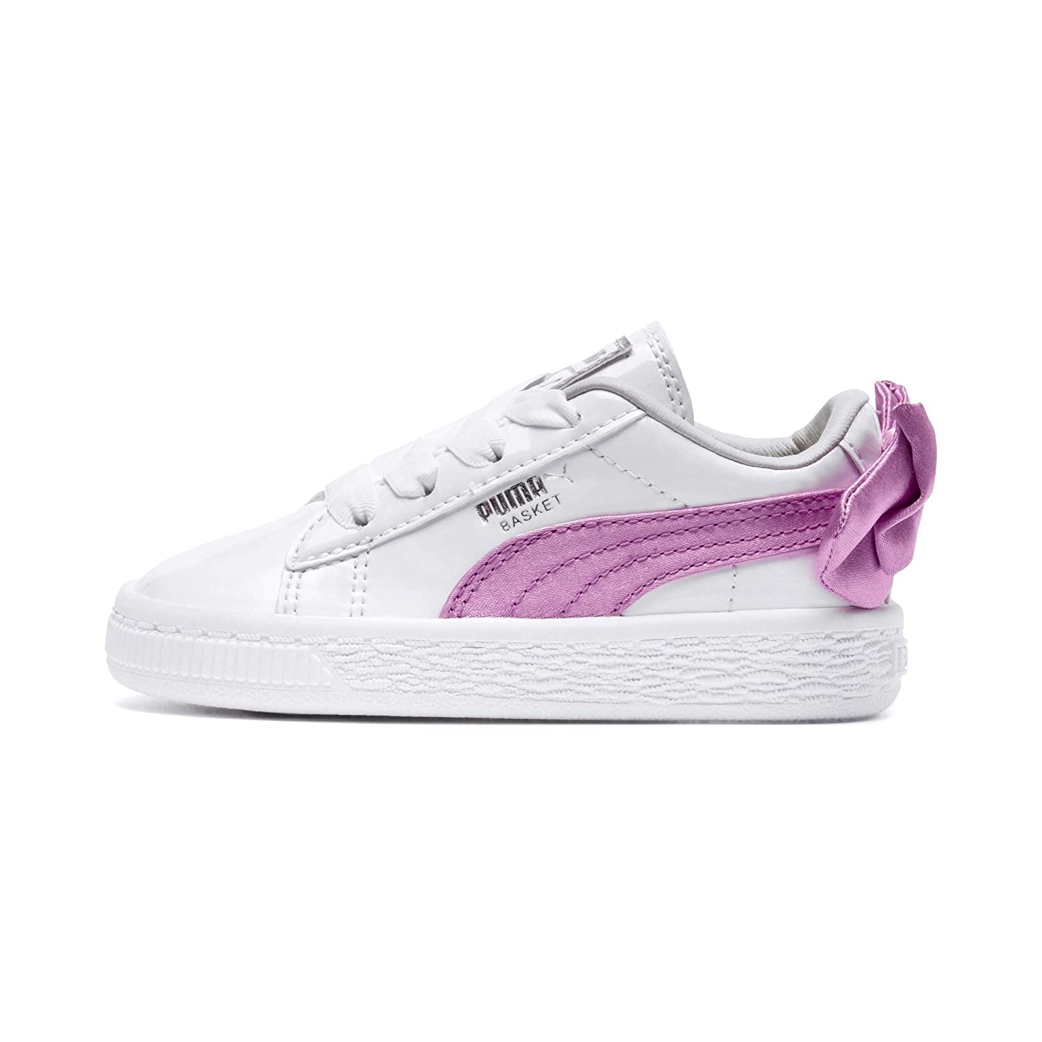 367622 Basket Bow Patent Sneakers PUMA Bambi Le