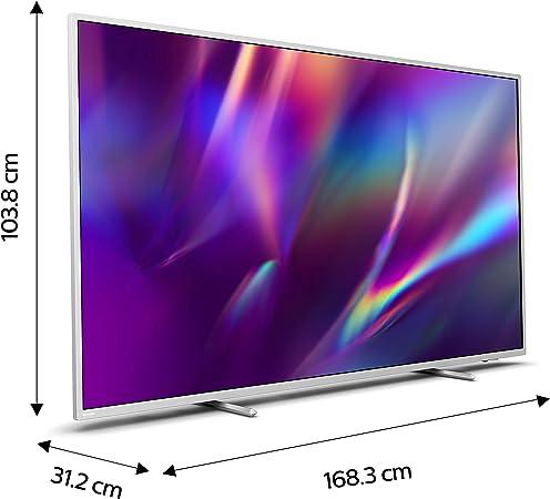 Philips Ambilight 75PUS8505/12 - Televisor Smart TV de 75