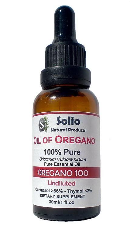 100% Puro Aceite Esencial Orégano 30 ml-1oz