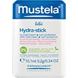 Mustela Hydra-Stick with Cold Cream, Ceramides and Natural Avocado Perseose, Nourishing Stick for Baby Skin, 0.34 Oz