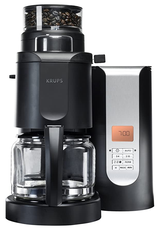 Amazon.com: KRUPS KM7005 Grind and Brew Coffee Maker with ...