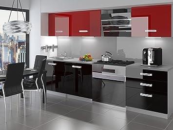 NEU Komplette Küche INFINITI II 180 cm Hochglanz verschiedene ...