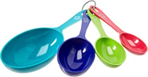 Farberware Colourworks Plastic Measuring Cup Set (Set of 4), Assorted