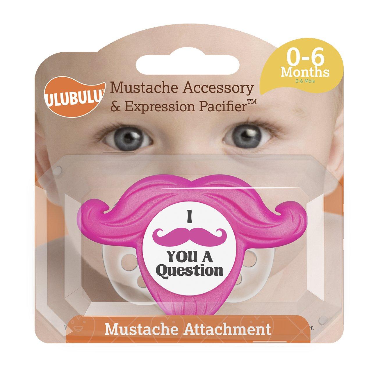 Los chupetes - Ulubulu - claro y rosa de bigote accesorio 0 ...