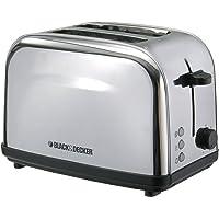 Black+Decker 2 Slice Cool Touch Toaster, White - ET222-B5, 2 Year Warranty