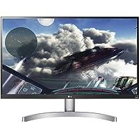 LG 27UL600 68,58 cm (27 Zoll) UHD 4K IPS Monitor (AMD Radeon FreeSync, DAS Mode, VESA Display HDR 400, HDR 10) schwarz/weiß