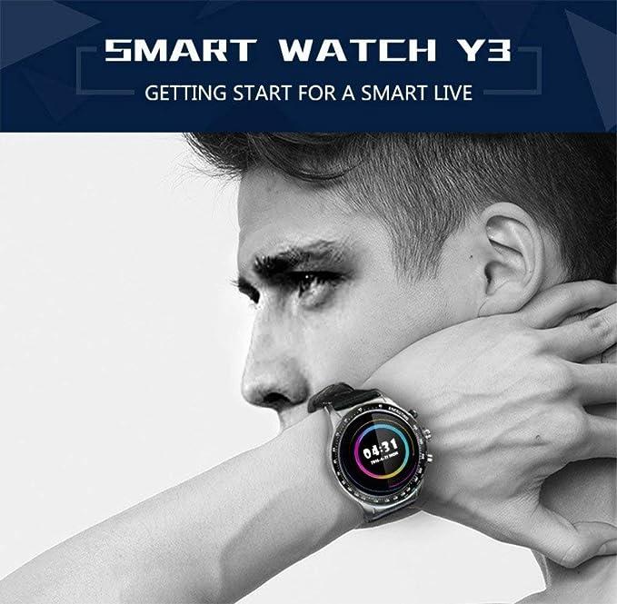 sanniya Reloj Inteligente Android Smartwatch Y3 con conectividad ...