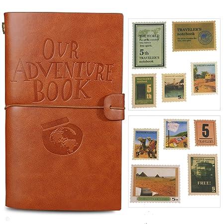 Our Adventure Book Tagebuch braun