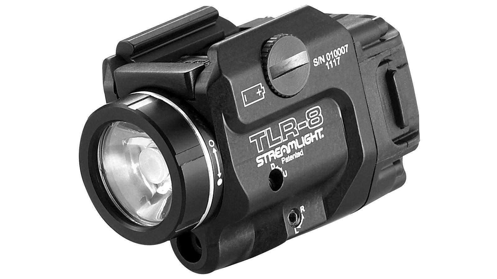 Streamlight TLR-8 Tactical Weapon Light/laser 500 Lumens Black Finish ''New Item''