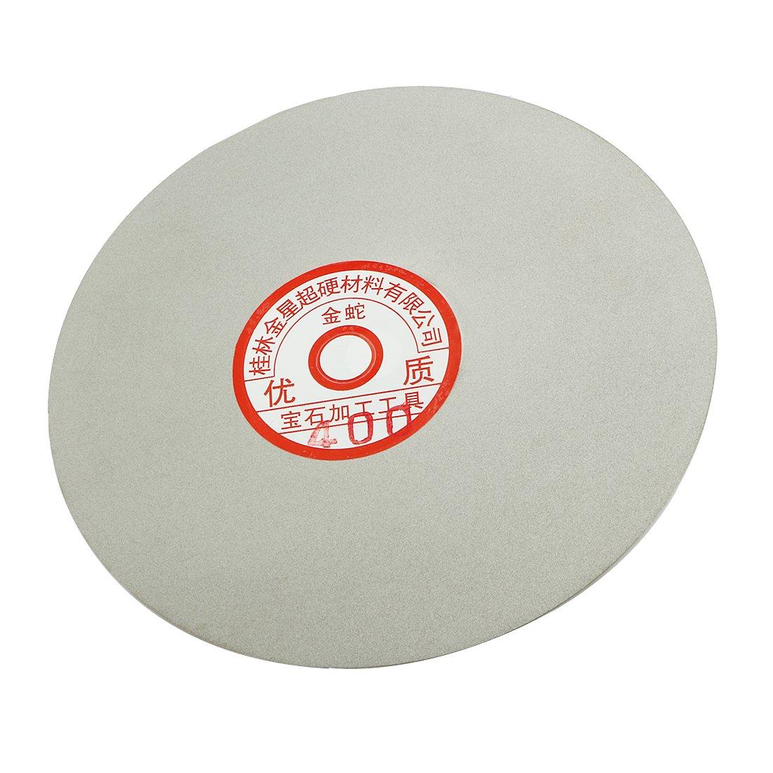 uxcell/® 6-inch Grit 46 Diamond Coated Flat Lap Wheel Grinding Sanding Polishing Disc