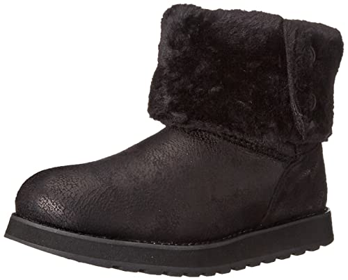 f14cf3a71528f Skechers Keepsakes Leather-Esque - Zapato botín de Lona Mujer  Amazon.es   Zapatos y complementos