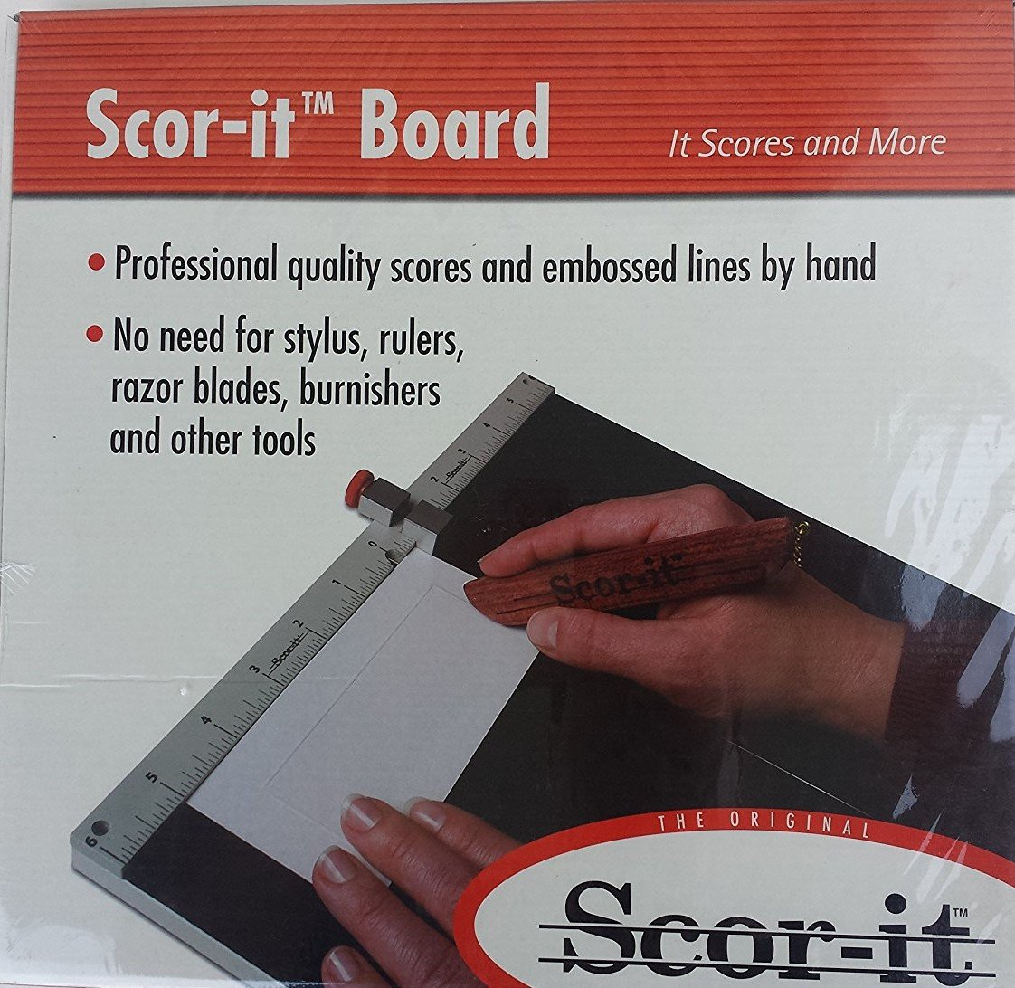 Scor-it Large in inches US Standard Version Scoring Board 12 3/8 x 13 3/8''