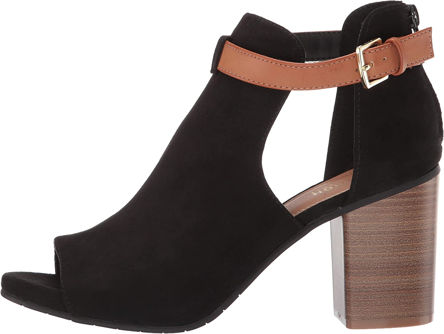 Kenneth Cole REACTION Womens Hit Hooded Bootie Ankle Boot